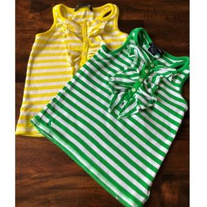Two Ralph Lauren Tank Tops